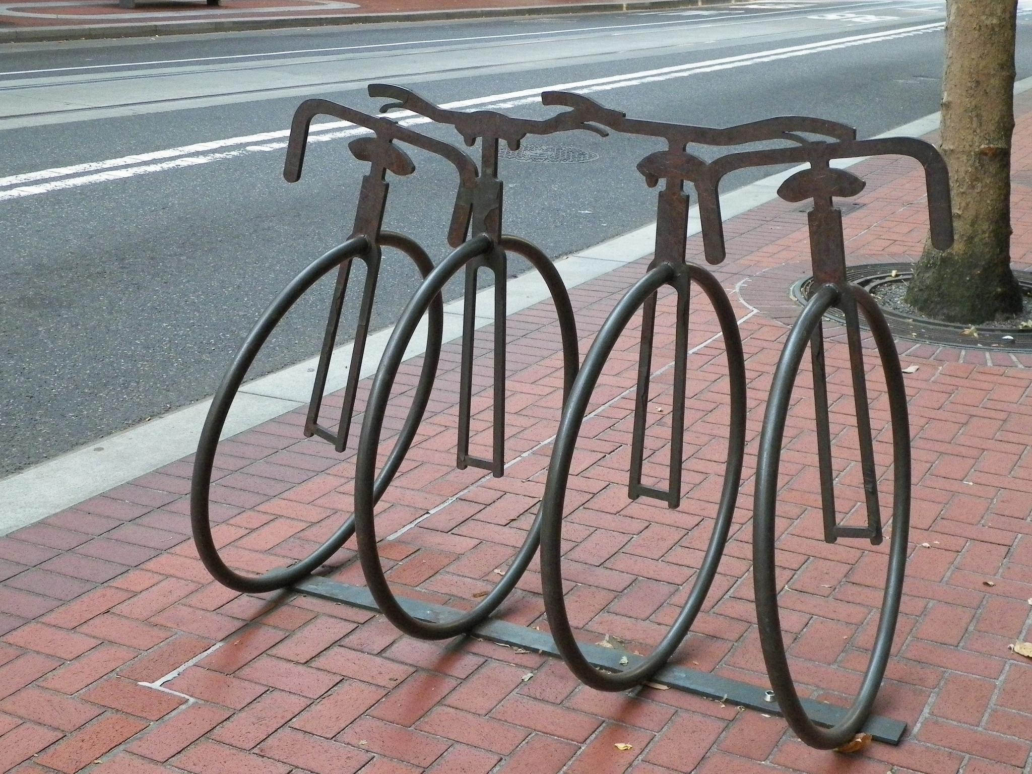 Portland Bike Racks