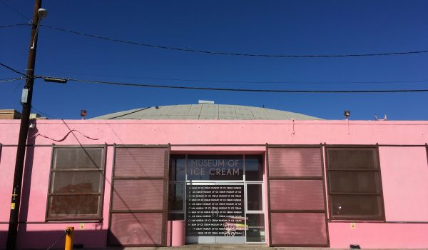 旧アイスクリームミュージアム(LA)外観