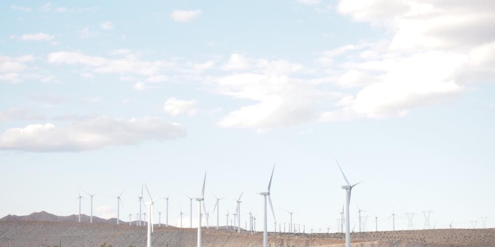 パームスプリングス 風車