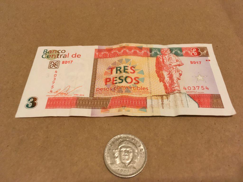 キューバのお金