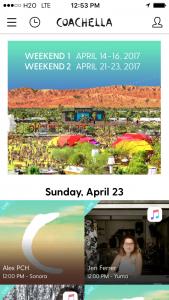 コーチェラ-アプリ