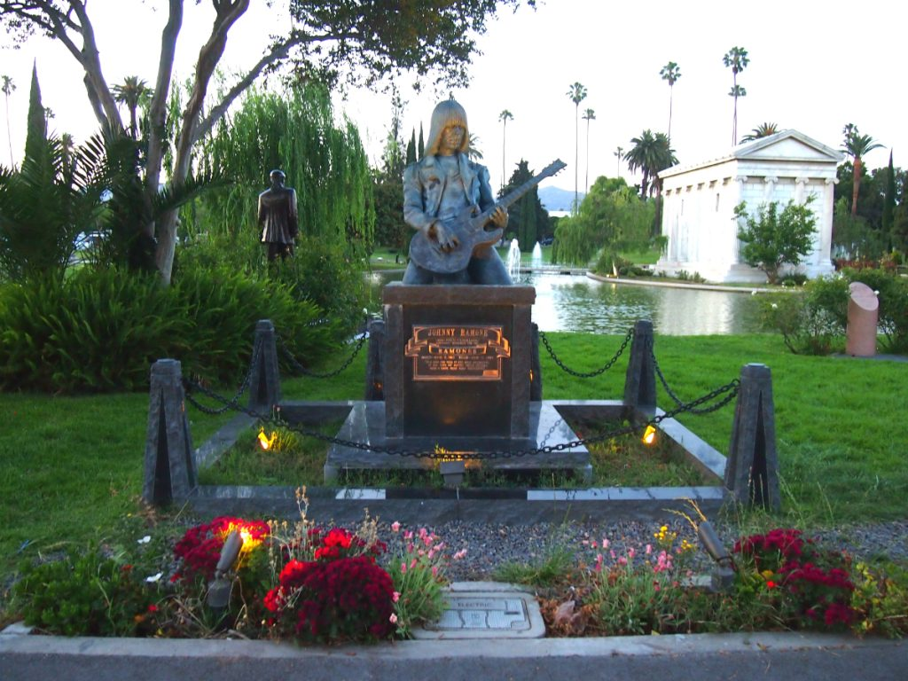 Johnny Ramone Tombstone