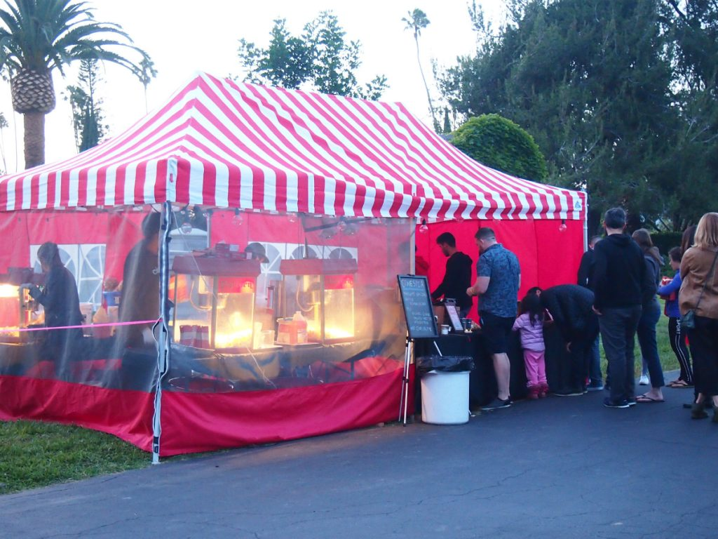 cinespia food booth