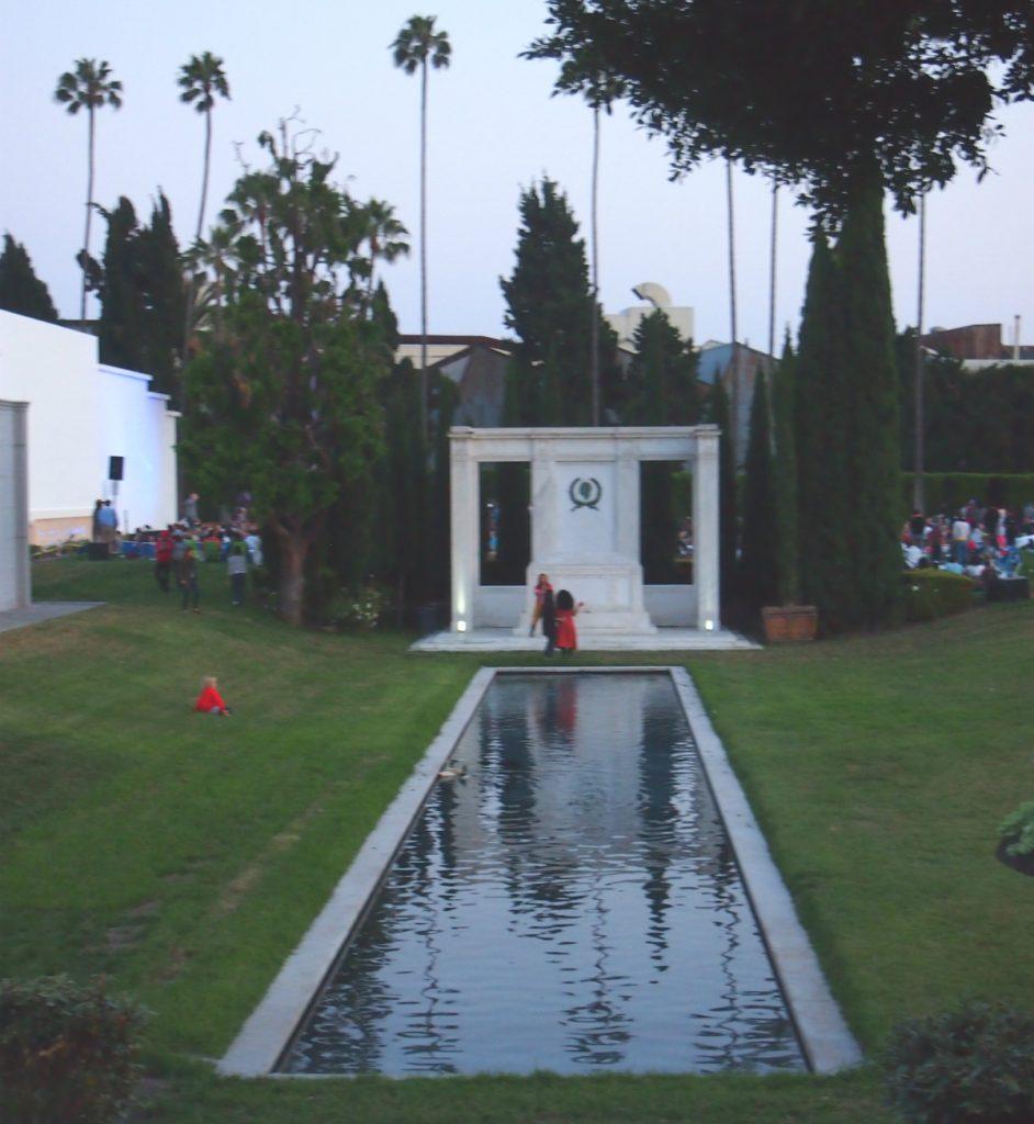 Tomb of Douglas Fairbanks Sr and Jr