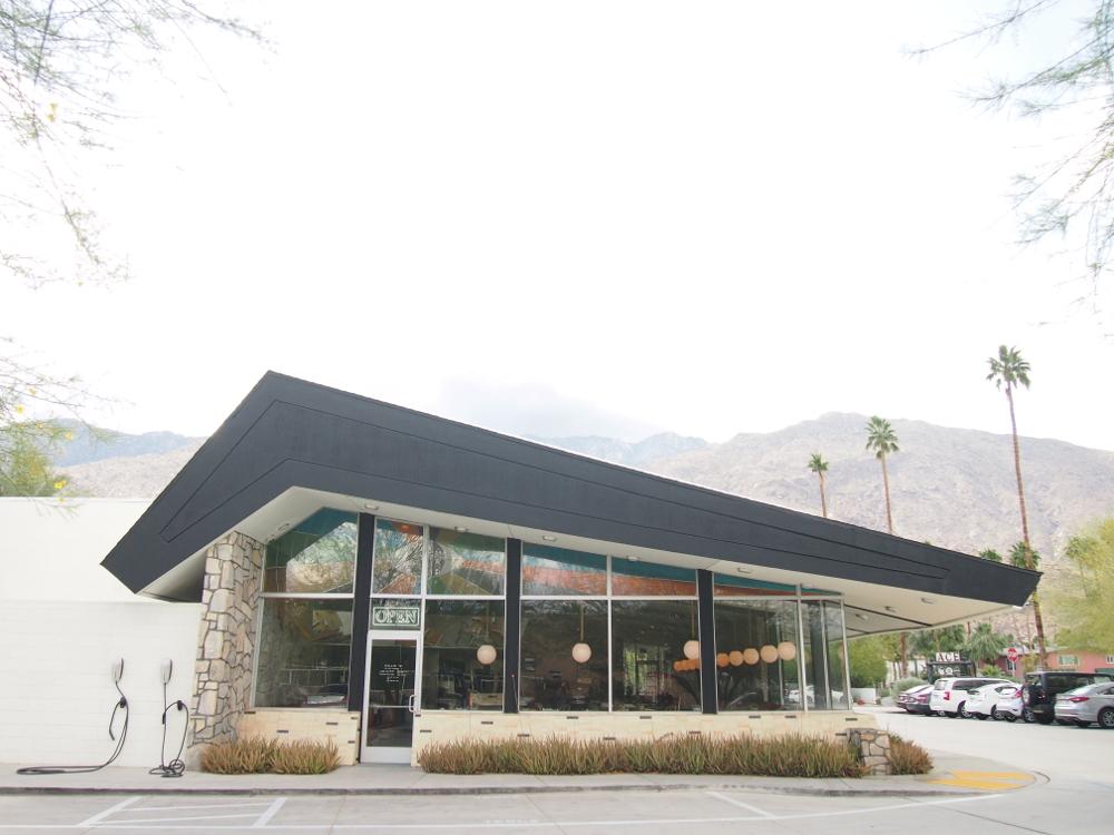 パームスプリングス エースホテル レストラン