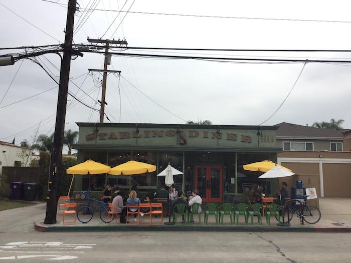 starling diner exterior