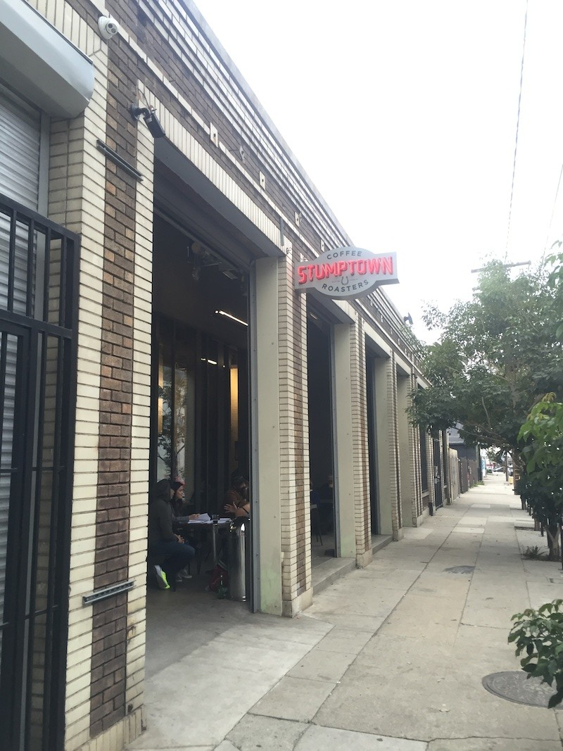 ダウンタウンLAのおしゃれエリア「Arts District」の一角にあるお店