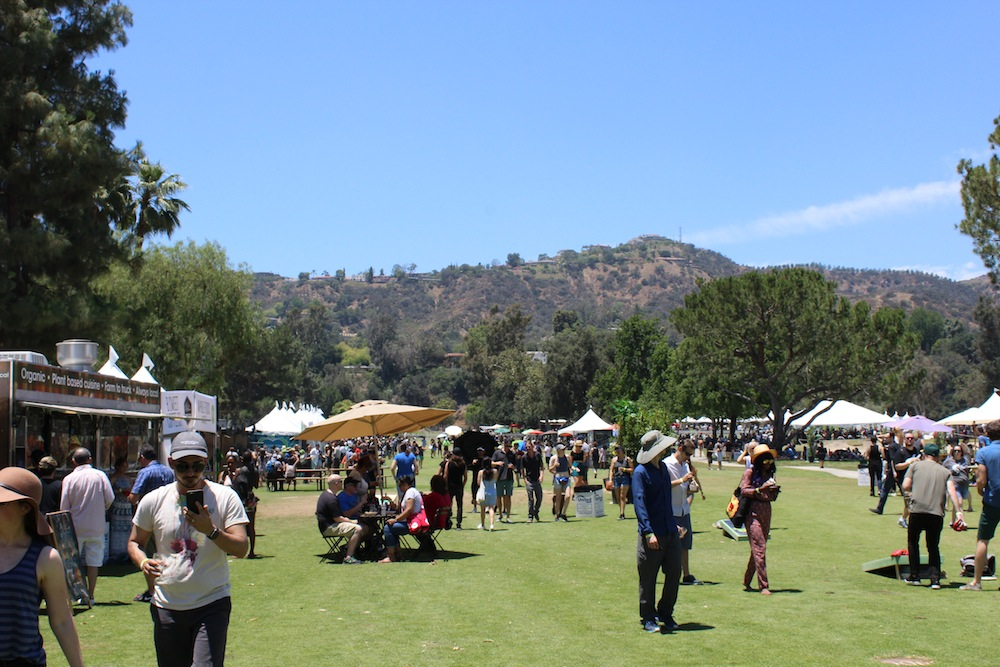 Vegan Beer & Food Festival Los Angelesの会場風景
